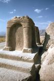Sasanian Fire Altar, Naqsh-I-Rustam, Iran Photographic Print by Vivienne Sharp