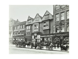 Horse Drawn Vehicles and Barrows in Borough High Street, London, 1904 Photographic Print