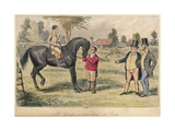 Mr. Sponge Is Introduced to Ercles, 1865 Giclee Print by John Leech