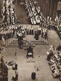 The Duke of Kent Pays Homage to the Newly Crowned King George Vi, 1937 Photographic Print
