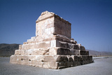 Tomb of Cyrus the Great, Pasargadae, Iran Photographic Print by Vivienne Sharp