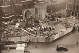 Erecting the Annexe to Westminster Abbey in Advance of King George Vis Coronation, 1937 Photographic Print