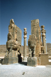 Front View of the Gate of All Nations, Persepolis, Iran Photographic Print by Vivienne Sharp