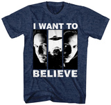 X-Files- I Want to Believe T-shirts