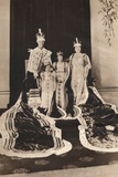 King George Vi and Queen Elizabeth on their Coronation Day, 1937 Photographic Print