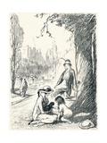 In Kensington Gardens - Stage Six, C1920 Reproduction procédé giclée par Claude Allin Shepperson