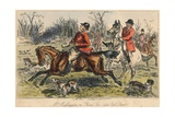 Mr Muffington on Placid Joe (Late Pull Devil), 1865 Giclee Print by John Leech