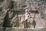 Relief of Shapur I, Naqsh-I-Rustam, Iran Photographic Print by Vivienne Sharp