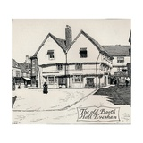 The Old Booth Hall, Evesham, 19th Century Giclee Print by Edmund Hort New