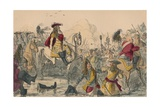 The Battle of the Boyne, 1850 Giclee Print by John Leech