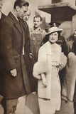 King George Vi and Queen Elizabeth Leaving a Reheasal from their Coronation, 1937 Photographic Print