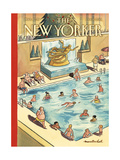 The New Yorker Cover - January 11, 2016 Regular Giclee Print by Marcellus Hall