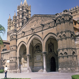 The South Doorway of Palermo Cathedral, 12th Century Photographic Print by Walter Ophamil