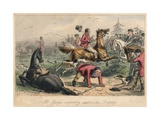 Mr. Sponge Completely Scatters His Lordship, 1865 Giclee Print by John Leech