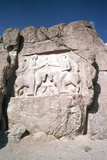 Relief of the Investiture of Ardashir I, Naqsh-I-Rustam, Iran Photographic Print by Vivienne Sharp