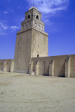 Minaret of the Great Mosque, Kairouan, Tunisia Stampa fotografica di Vivienne Sharp
