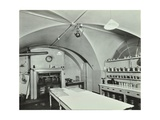Kitchen at Admiralty House, Westminster, London, 1934 Photographic Print