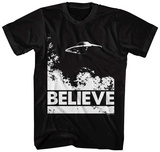 X-Files- Believe in UFO's Shirts