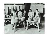 Laundry Work, Tennyson Street School, Battersea, London, 1907 Photographic Print