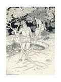 Illustration to Spensers Faerie Queene. Canto Ii. Verse 30, C1895 Reproduction procédé giclée par Louis Fairfax Muckley