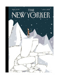 The New Yorker Cover - January 4, 2016 Regular Giclee Print by Frank Viva