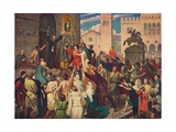 Peter the Hermit Preaching the First Crusade, C1095 Giclee Print by James Archer