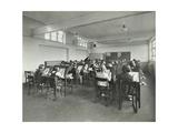 Art Lesson, Wornington Road School, London, 1938 Photographic Print