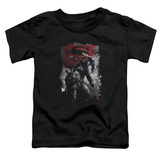 Toddler: Batman vs. Superman- Steel Grip T-Shirt