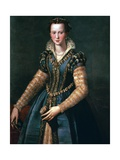 Portrait of Maria De Medici, 16th Century Giclee Print by Alessandro Allori