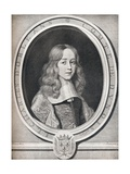 Charles Dorleans, Comte De Dunois, 1660, (1922) Giclee Print by Robert Nanteuil