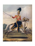 Officer of the 17th Lancers, C1833. (1914) Giclee Print