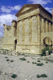 Back of Temples, Sbeitla, Tunisia Stampa fotografica di Vivienne Sharp