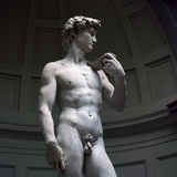 Michelangelos David Photographic Print by  Michelangelo Buonarroti