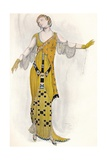 Fantaisie Sur Le Costume Moderne, Dione, C1910 Giclee Print by Leon Bakst