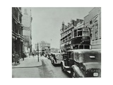 Traffic on the New Kent Road, Southwark, London, 1947 Photographic Print