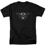 Batman vs. Superman- Wonder Woman Shadow Logo T-shirts