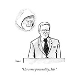 """Use some personality, Jeb."" - Cartoon Premium Giclee Print by Benjamin Schwartz"