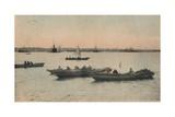 Yokohama Harbour, Japan, C1918 Giclee Print