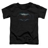 Toddler: Batman vs. Superman- Movie Logo T-Shirt