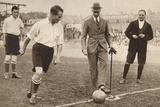 The Duke of York ,Charity Football Match, Tottenham Hotspurs and Corinthians, C1921 Photographic Print