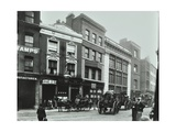 Carts Outside the Sundial Public House, Goswell Road, London, 1900 Photographic Print