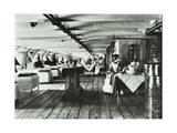 A Copy of a Photograph of the Ward Deck of the Atlas Smallpox Hospital Ship, C1890-C1899 Photographic Print