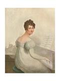Windsor Castle, 1821. Georgina Quentin Mistress of King George IV (1762-1830), 1911 Giclee Print