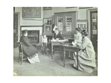 Medical Examination of a Boy, Holland Street School, London, 1911 Photographic Print