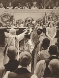 The Crowning of Queen Elizabeth, Wife of King George Vi, 1937 Photographic Print