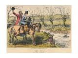 The View, 1865 Giclee Print by John Leech