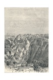 Kimberley: Appearance of the Diamond Mine in 1880, 1896 Giclee Print