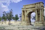 Triumphal Arch, Sbeitla, Tunisia Stampa fotografica di Vivienne Sharp