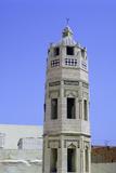 Minaret, Zakkak Madresa, Sousse, Tunisia Stampa fotografica di Vivienne Sharp