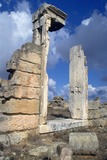 Temple Doorway, Cyrene, Libya Photographic Print by Vivienne Sharp
